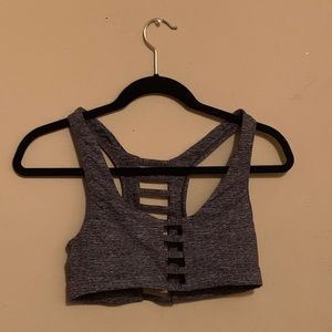Victoria's Secret PINK grey sports bra